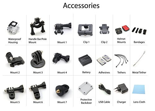 Accessoires XPRO3