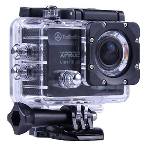 Caméra embarquée TecTecTec XPRO2_Noir