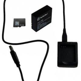 Kit Carte MicroSD 64 Go; Batterie XPRO3, Câble et Chargeur