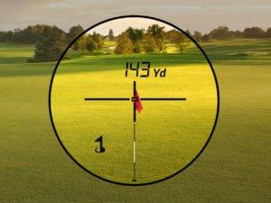 TecTecTec télémètre laser de golf VPRO500 mesure jusqu'à 540 mètres avec précision d'1 mètre