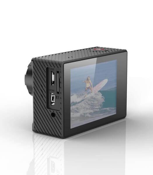 TecTecTec XPRO4+ Caméras embarquée Side View
