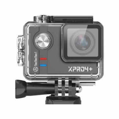 Caméra XPRO4+ Noire dans son caisson étanche 30 mètres TecTecTec