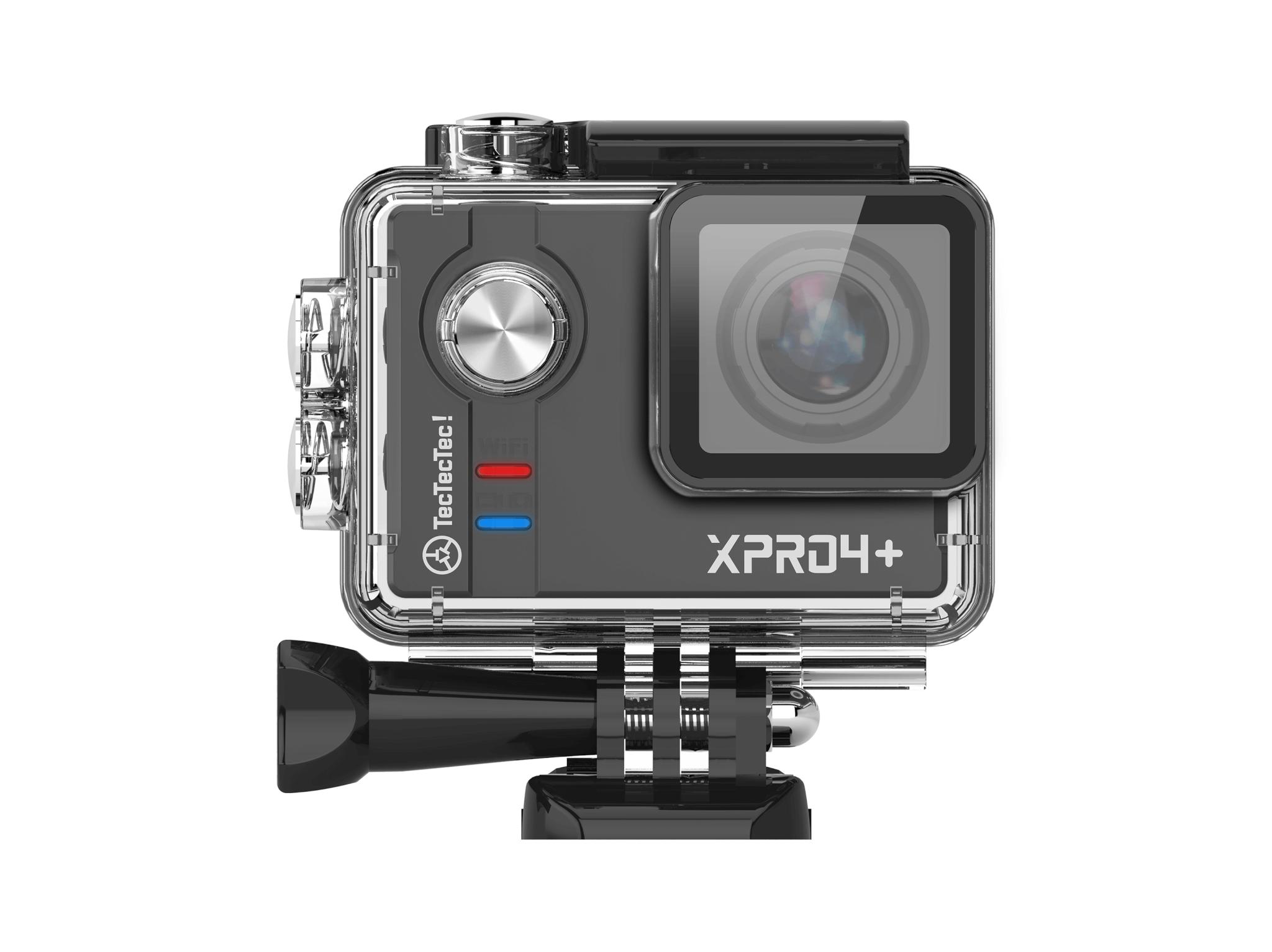 Caméra XPRO4 + TecTecTec dans son caisson étanche 30m