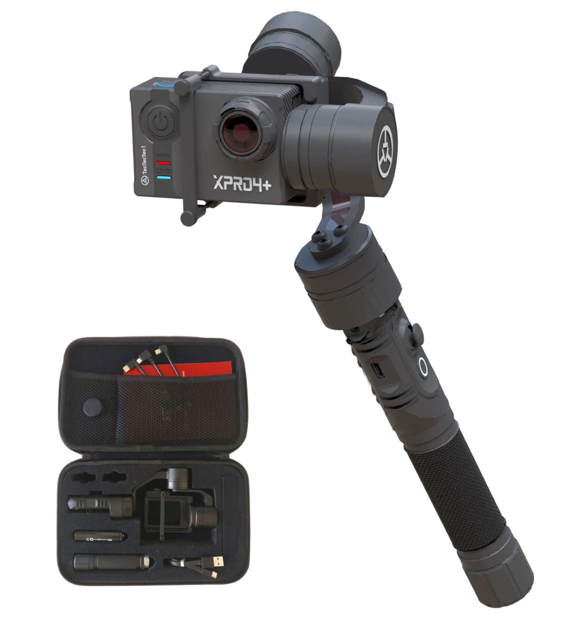 Meilleur Stabilisateur pour caméras d'action TecTecTec XPRO, GoPro Hero, PNJ, Yi, SJ Cam