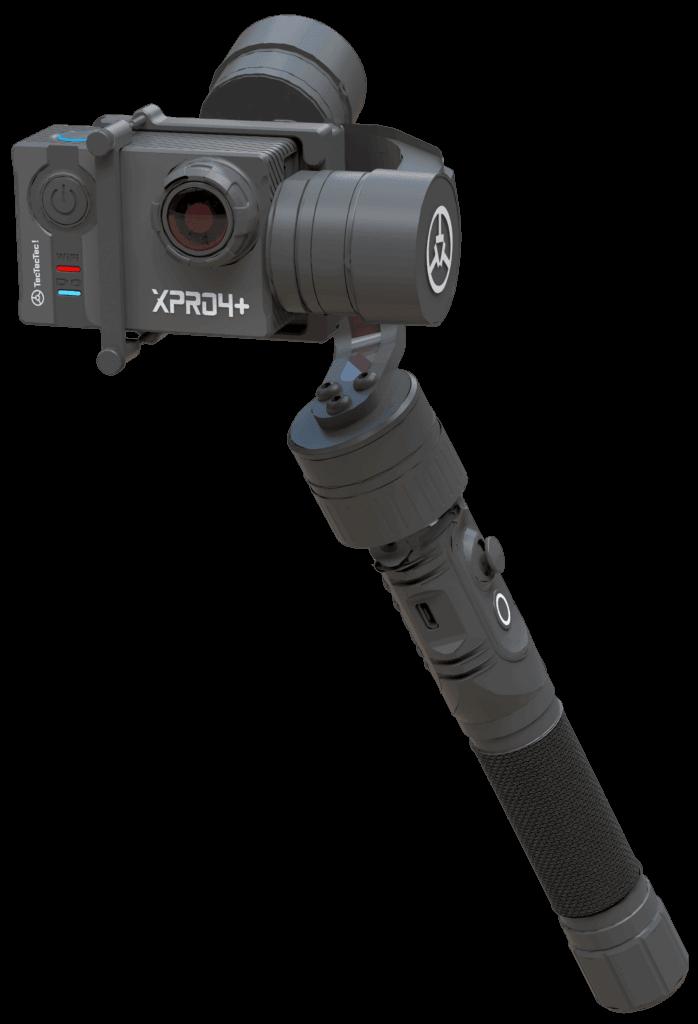 Meilleur Stabilisateur STPRO1 pour caméras d'action et caméras embarquée TecTecTec XPRO, GoPro Hero, PNJ, Yi, SJ Cam