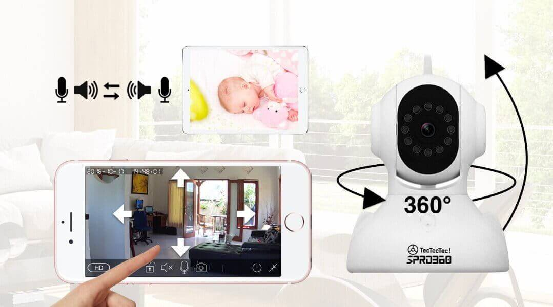 TecTecTec Security camera system2