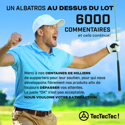 TecTecTec satisfaction client dépasse vos attentes télémètre laser de golf montre gps de precision