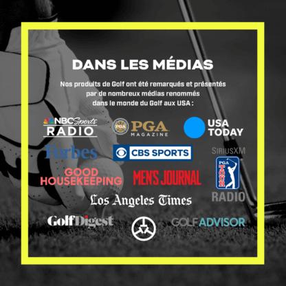 TecTecTec dans les médias télémètre laser de golf autorisé tournois