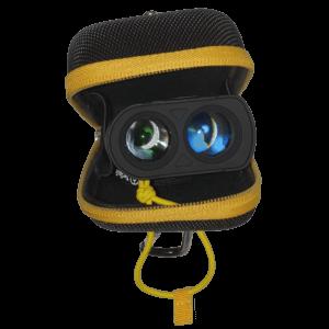 TecTecTec Housse étui premium noire et jaune pour différents modèles de télémètres avec ULT-X