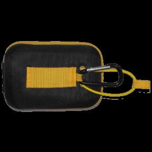 TecTecTec Housse étui premium noire et jaune pour différents modèles de télémètres